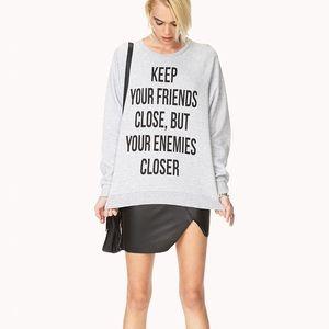 Forever 21 Crewneck Sweatshirt
